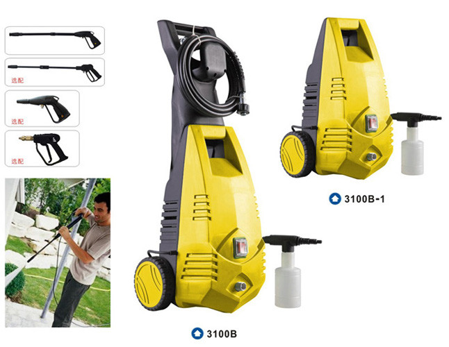 Automatic 220V 1600W portable high pressure washer for home use